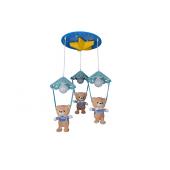 *19-MD8154-4 (3+1) Детский светильник (1х1)
