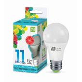 01715 Лампа светодиодная LED-A60-standard 11Вт 230В Е27 4000К 990Лм ASD