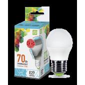 03993 Лампа светодиодная LED-Шар-standard 7.5Вт 230В Е27 4000К 675Лм ASD