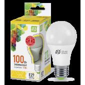 01739 Лампа светодиодная LED-A60-standard 11Вт 230В Е27 3000К 990Лм ASD