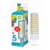 04662 Лампа светодиодная LED-JC-standard 5Вт 12В G4 4000К 450Лм ASD