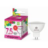 12278 Лампа светодиодная LED-JCDR-standard 7.5Вт 230В GU5.3 6500К 675Лм ASD
