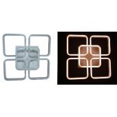 37-MX2382-4+1 DIM WH Люстра светодиодная с ПДУ (диммер) (1x1)