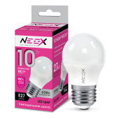 23762 Лампа светодиодная LED-Шар 10W 230B E27 6500K 800Лм NEOX
